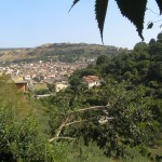 Santulussurgiu a la llunyania (Sardenya)