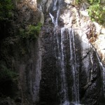 Cascada s'Istrampu de sos Molinos (Bonacattu, Sardenya)