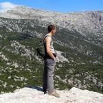 Jo i el Monte Corrasi (Supramònte, Sardenya)