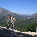 Taniei i jo a la vall de Lanaittu (Ùliena, Sardenya)