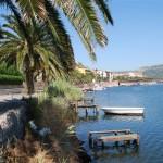El riu Temo al seu pas per Bosa (Sardenya, 2008)